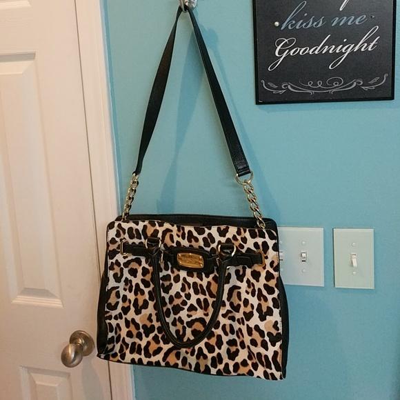 adaa3bc9b32b SALE!  99Never used Michael Kors leopard bag. M 5a92dd8f45b30c3dbaa3f94d